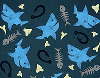 Lil Sharks Pattern Collection