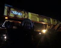 Video Mapping on Trucktor