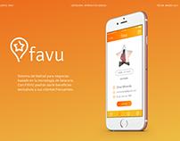 Favu - App design
