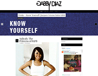 Website Redesign | GabbyDiaz.comv