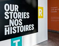 Our Stories / Exhibit Design