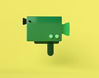 3d icon animation