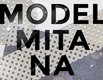 MODEL MITANA ART POSTER