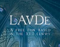 Laude | Free Font