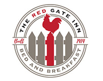 "LOGO/BRANDING - ""The Red Gate Inn"""