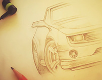 Automotive Sketching