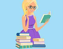 Illustration for websites