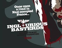 Illustrated Poster - Inglorious Bastards