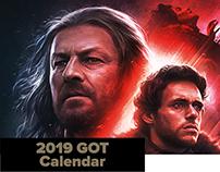 GOT 2019 Calendar