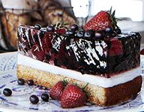 Strawberry pie CGI