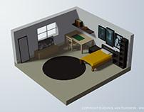 Bedroom - B3DP 001