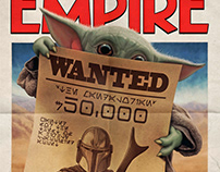 The Mandalorian (Empire MagazineSubscriber Cover)