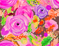 Bright Floral III
