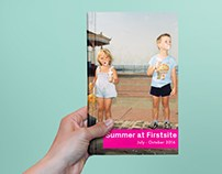 Graphic Design for Firstsite