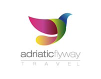 Adriatic Flyway Travel Logo versions