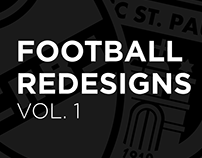 Football Redesigns Vol. 1