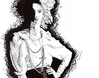 Ilustração/desenho - black&white