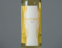 """Etiqueta de vino """"Ritmo"""""""