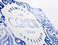 Premiata Offelleria Cometti Logo design & packaging