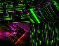 Glowing Cube - VJ Loop Pack (6in1)