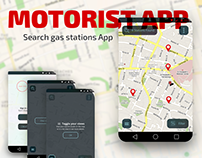 Search Gas Stations App