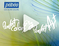 Animation | Pebeo Colors - TV AD