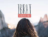 50% off Ibrat HandCrafted Font