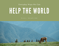 Everyday Ways We Can Help the World