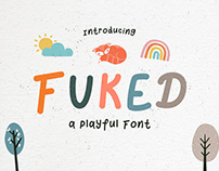 Fuked – Fun and Playful Font