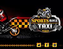 Sports Bike Taxi Rider
