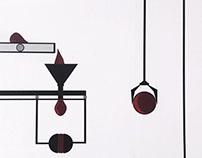 Vinyl Wall Illustration - 'The Boob Machine'