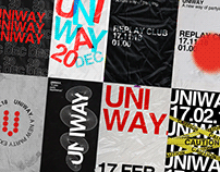 UNIWAY — Posters