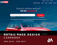 CARPROOF Retail Pages