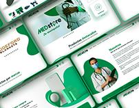 E-Commerce design for MedStore medical supplies