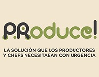 Video PRoduce! APP para productores y chefs de Pto Rico