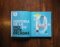 FAO (United Nations) 70 anniversary / Picture book