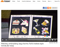 Twig and Arrow on the TODAY Show NBC - Fall Trends