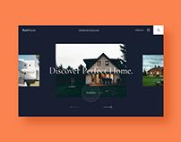 UX/UI Website Designe (Real Estate)