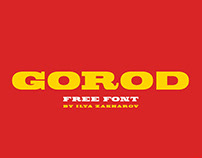 GOROD - FREE SLAB SERIF FONT