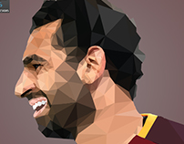 Poly art (Mohamed Salah)