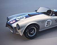 Shelby Cobra | Modelo 3D