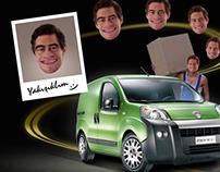 Fiat Fiorino Microsite&Banners '2008