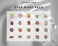 Color Star Wars Icons