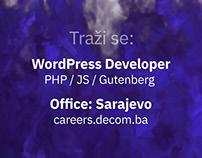 WordPress developer & Web Designer in Sarajevo