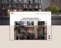 Happy City website design