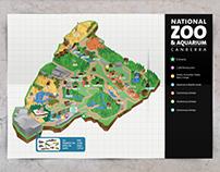Australian National Zoo & Aquarium redesign