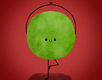 Mr Pea - The Yogi Pea