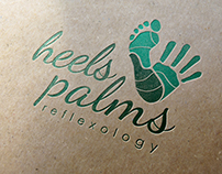 Heels and Palms Reflexology Logos