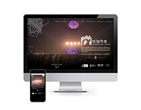 Alpha Production Group Website & Mobile Site