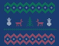 Christmas Deer-template Free